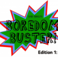 We Launch the Boredom Buster plus all the latest news from HMR Circle