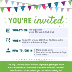 Big news about the Big Lunch & BIGGER News about the online Circle 8th Birthday Party
